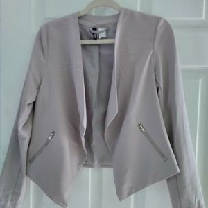 Taupe Cropped Blazer